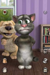 Детская забава с Talking Tom Cat 2